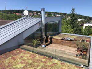 Extenzívna zelená strecha Bratislava – Koliba