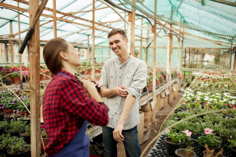 zelená strecha pre záhradníkov a záhradné centrá